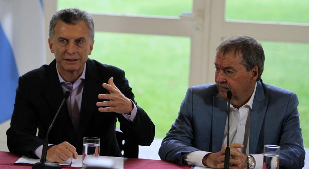 Macri dio inicio a obra clave para prevenir las inundaciones
