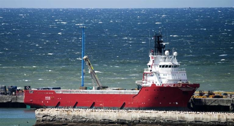 ARA San Juan: Partió el minisubmarino de Estados Unidos