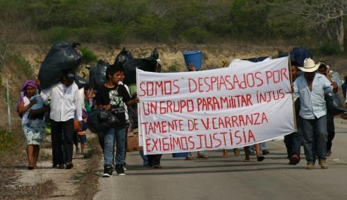 CNDH pide protección a chiapanecos desplazados por violencia