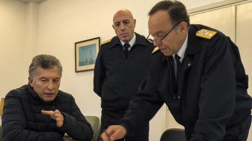 El Presidente grabará un mensaje por la búsqueda del ARA San Juan