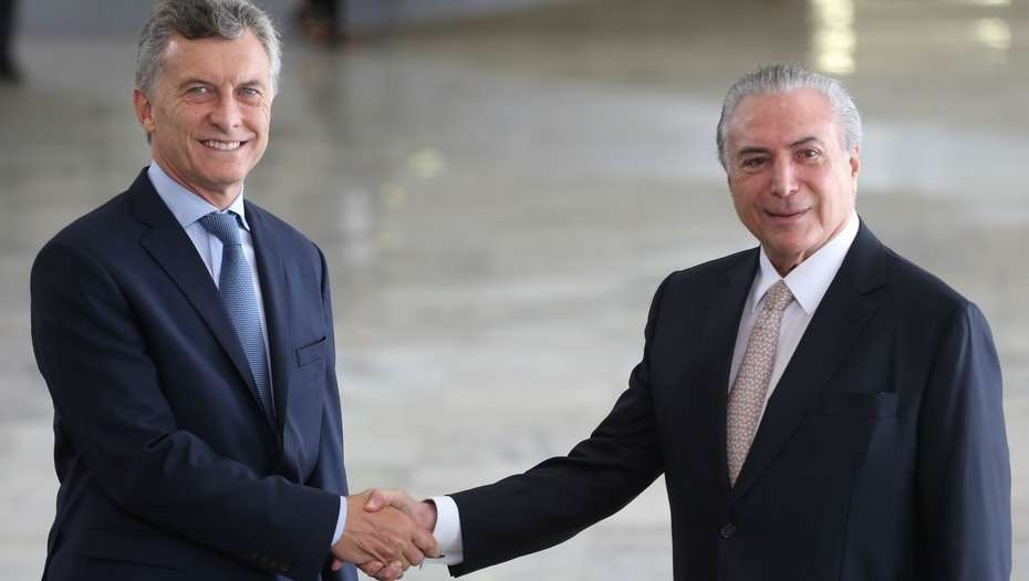 Temer felicitó a Macri por la reforma previsional — Cumbre del Mercosur