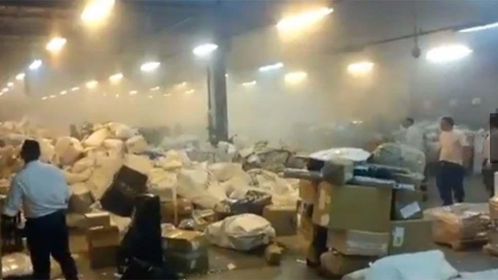 Explosión en una sede del Correo Argentino dejó dos heridos