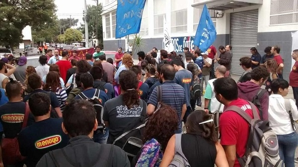 Los despedidos de PepsiCo tomaron la planta en protesta