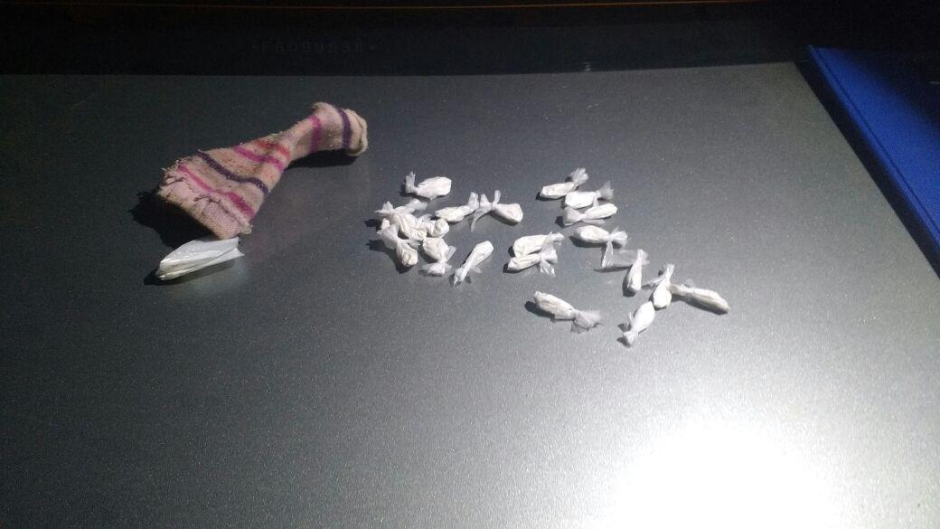 Encontraron cocaína en el interior de la media de un bebé — Córdoba
