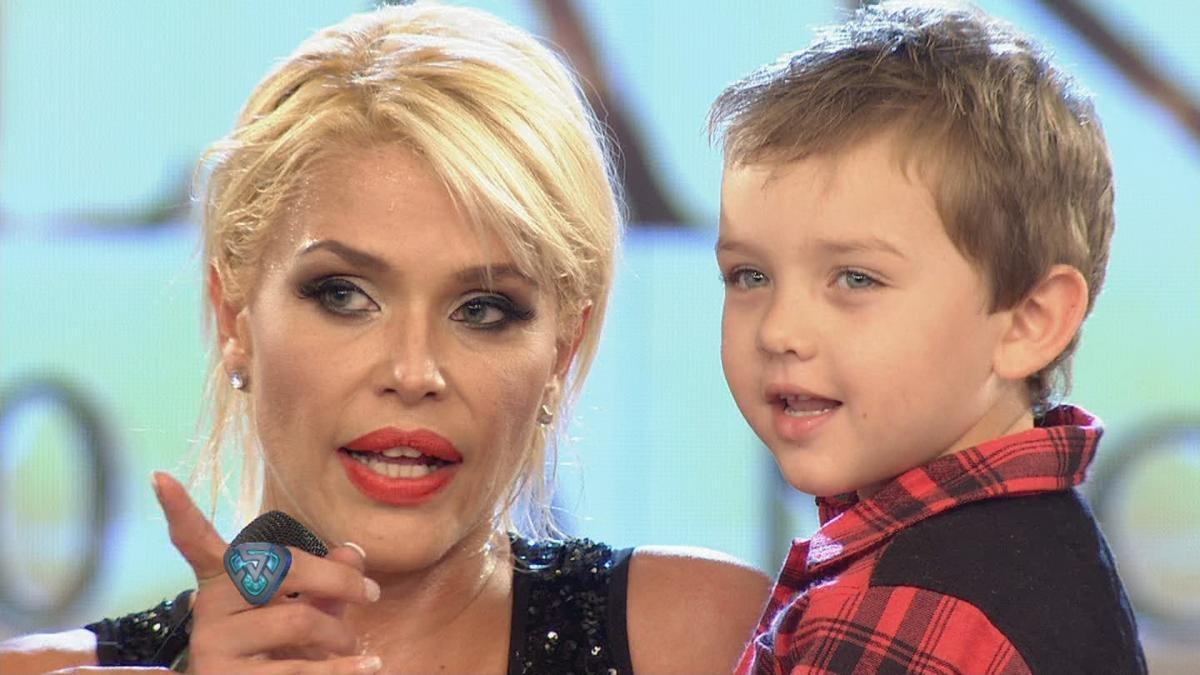 ¡UN DULCE! Nazarena Vélez mostró un divertido video con su hijo Thiago