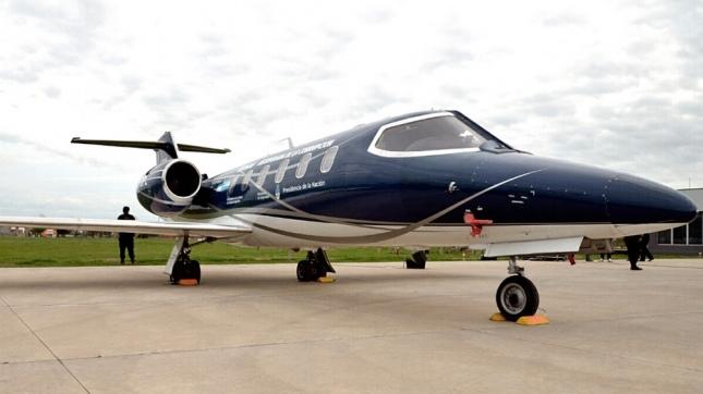Así quedó el avión que usó Lázaro Báez antes de ser detenido