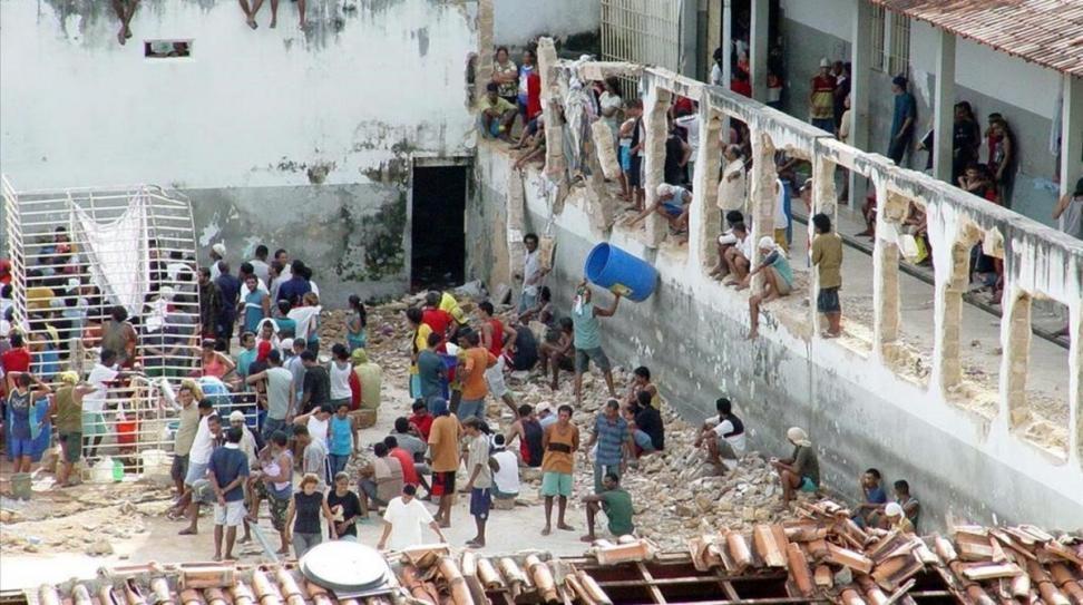 Al menos nueve muertos en un motín en una cárcel de Brasil