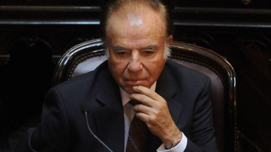 Absolvieron a Carlos Menem en la causa por venta ilegal de armas
