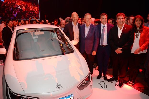 Se lanzó el primer auto eléctrico argentino