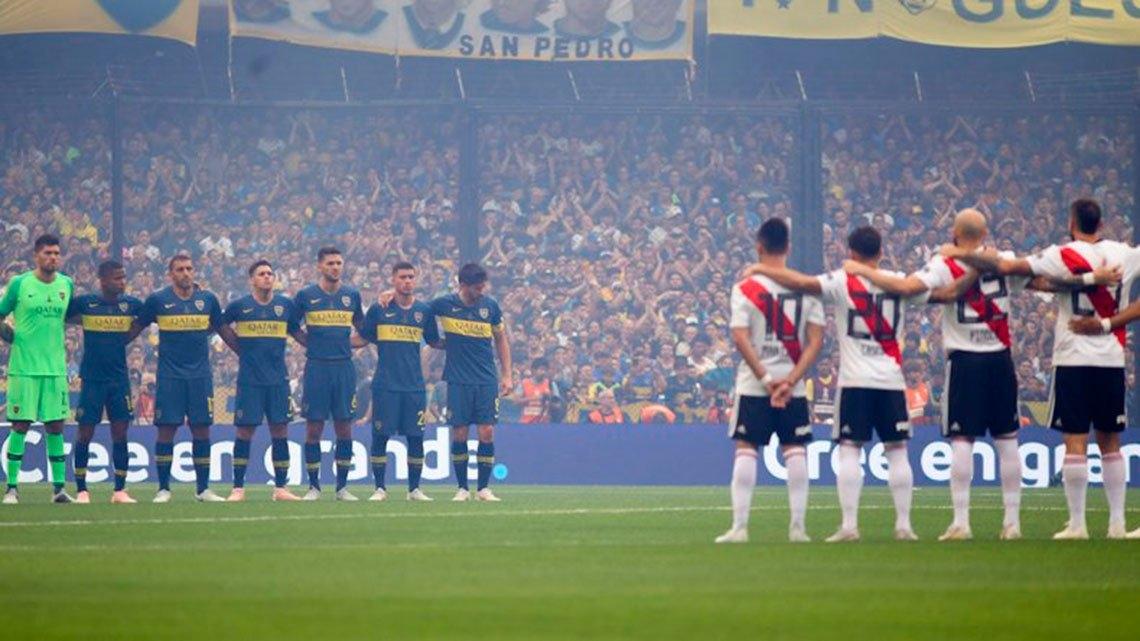 Madrid, el gran ganador del Boca-River