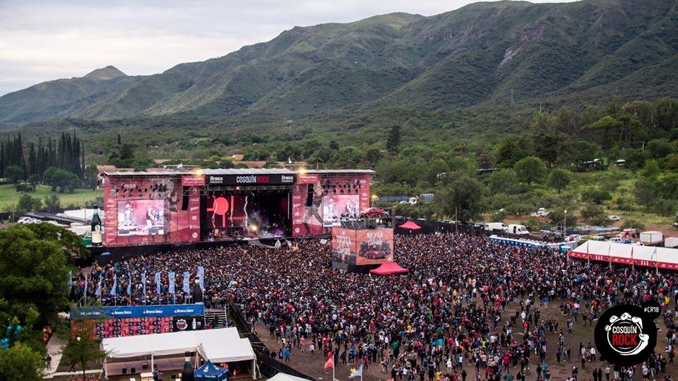 Festival argentino Cosquín Rock debutará en Chile