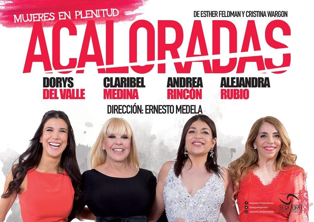 Terrible tole tole entre Andrea Rincón y la producción de Acaloradas
