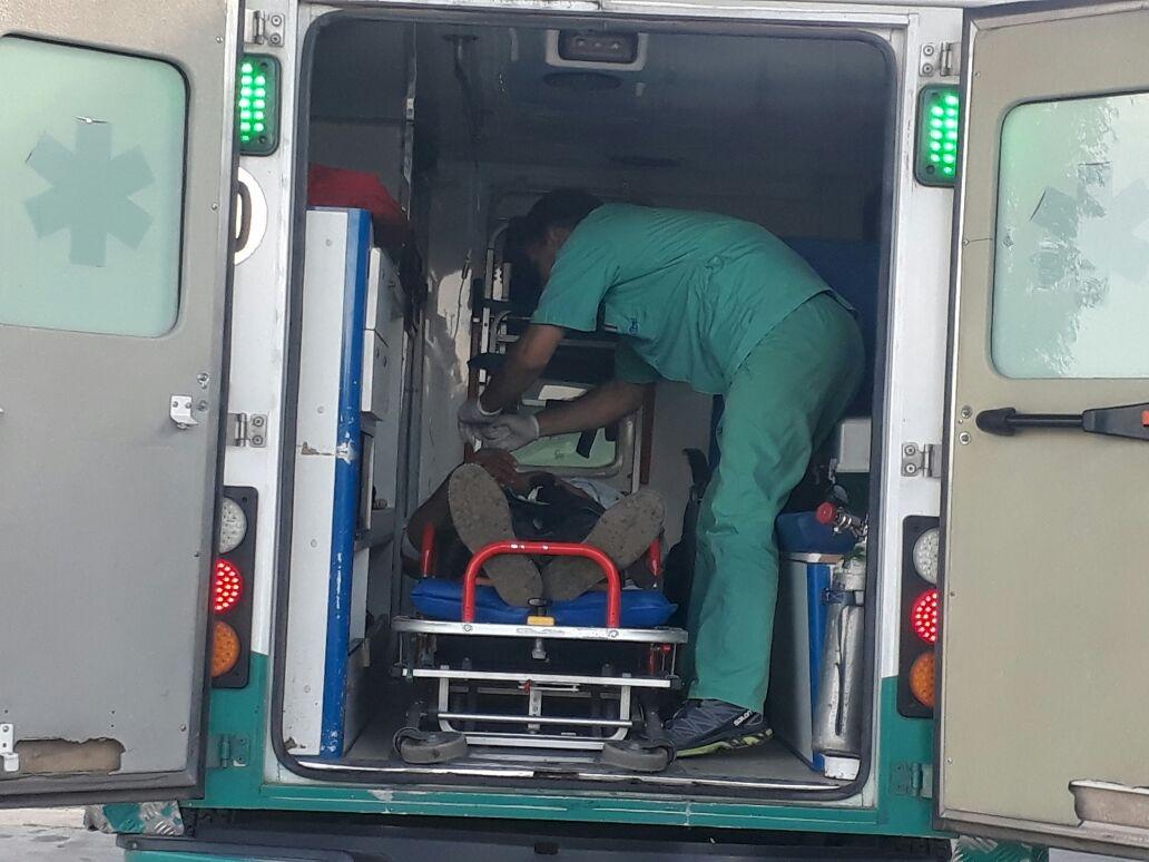 Chocó un colectivo en Altas Cumbres y hay más de 40 heridos