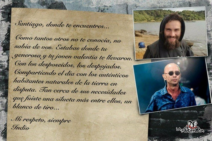 La familia de Santiago Maldonado pedirá justicia
