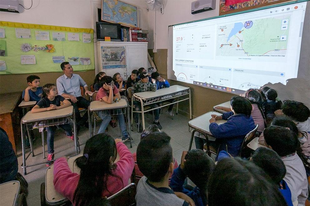 Escuela rural de San Roque sumó conectividad - El Diario de Carlos Paz