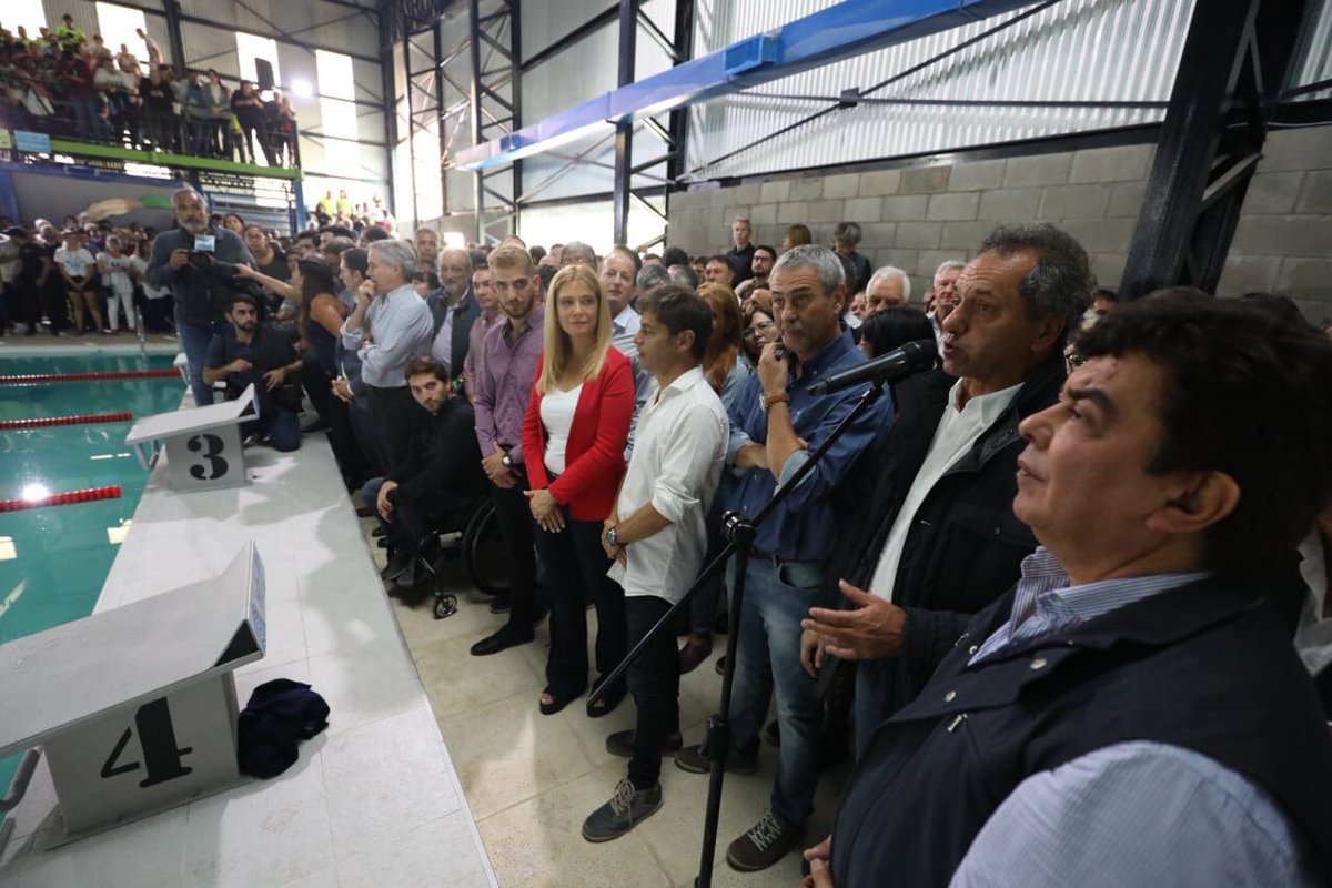 Scioli: voy a ser candidato contra Cristina Kirchner - Actualidad
