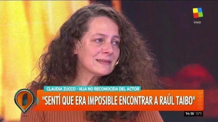 Raúl Taibo y su supuesta hija recibieron el resultado del ADN