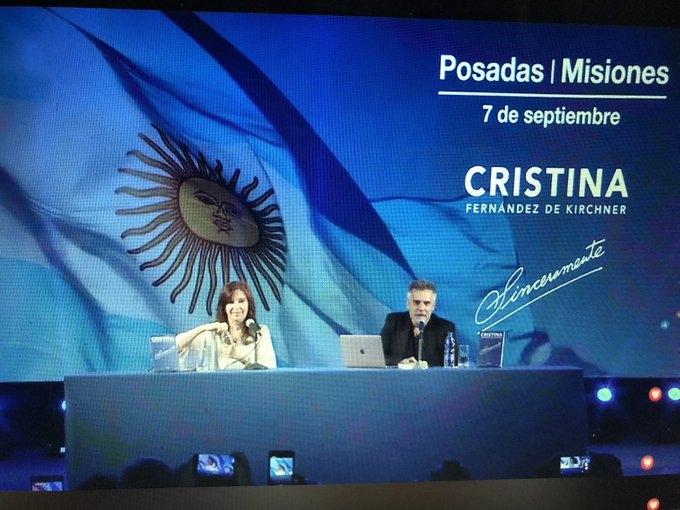 Cristina Kirchner se reunió con el gobernador Passalacqua, Closs y Lugo