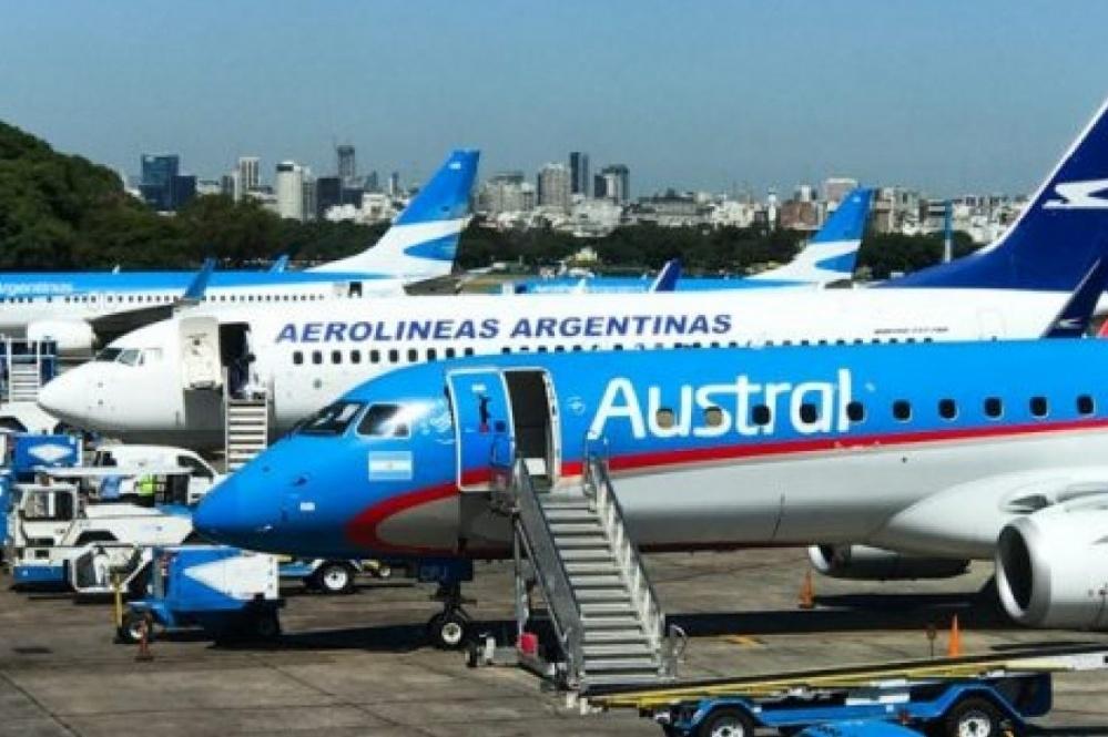 Aerolíneas y Austral funcionan como una sola compañía
