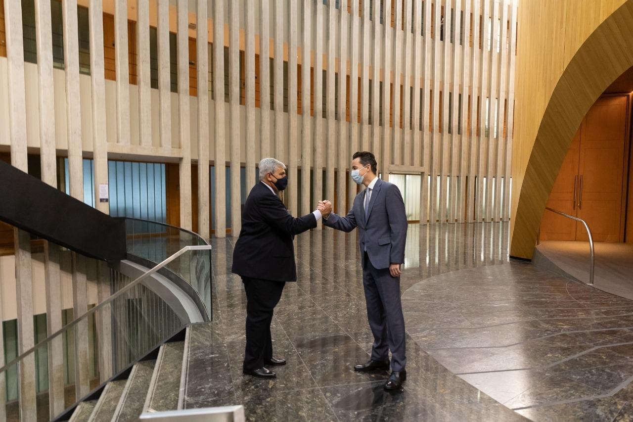 El Vicegobernador de Córdoba recibió a su par Jujeño