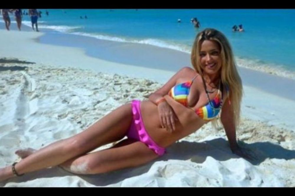 """Las fotos """"hot"""" de Solange Rivas, la novia de Colazo"""