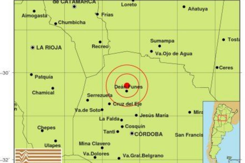 Sismo: Córdoba tembló durante la madrugada