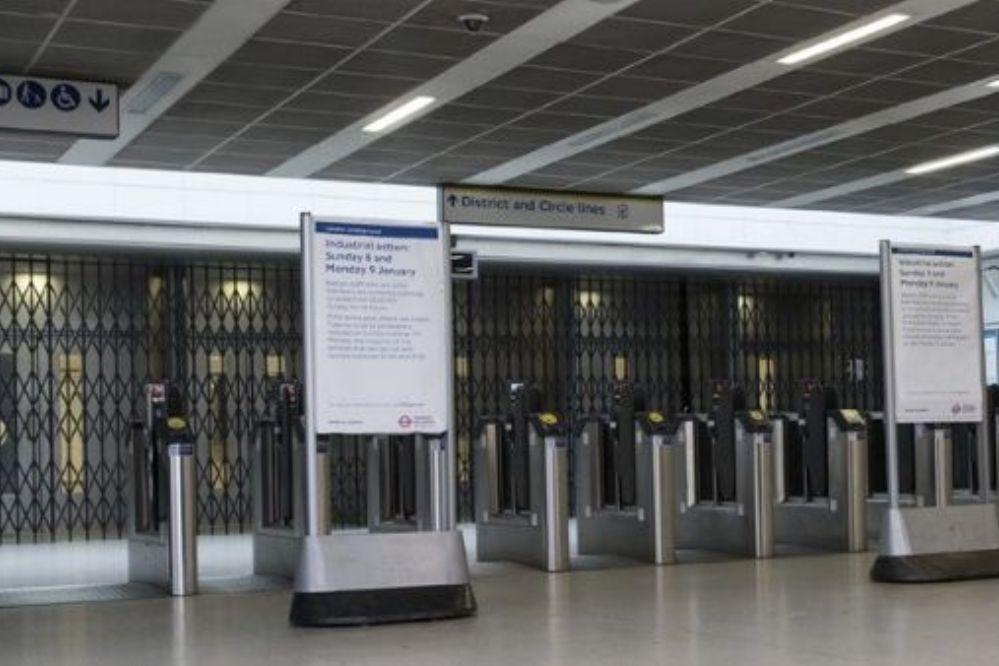 Cerraron el metro de Londres por huelgas