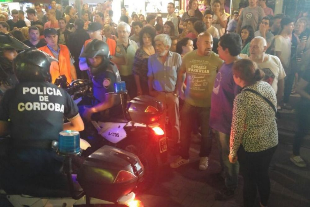 Carlos Paz: La estampida comenzó por una pelea y no hubo disparos
