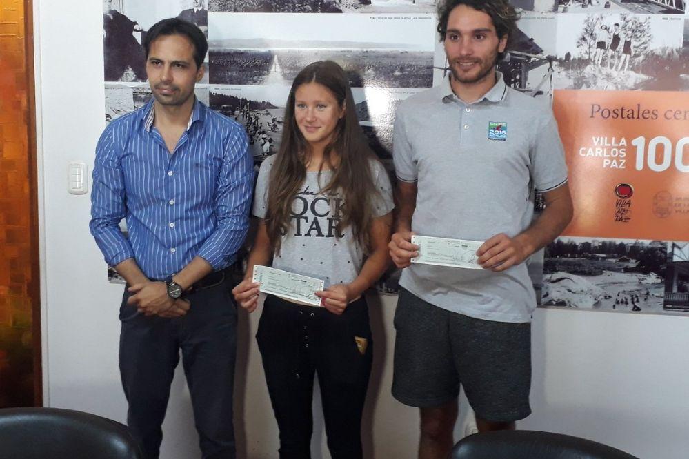 Pesci y Da Roit recibieron ayudas del municipio