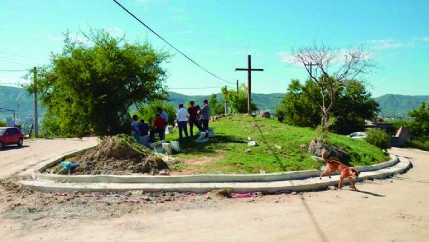 Municipio encara la refuncionalización de la Cruz de Palo de La Quinta