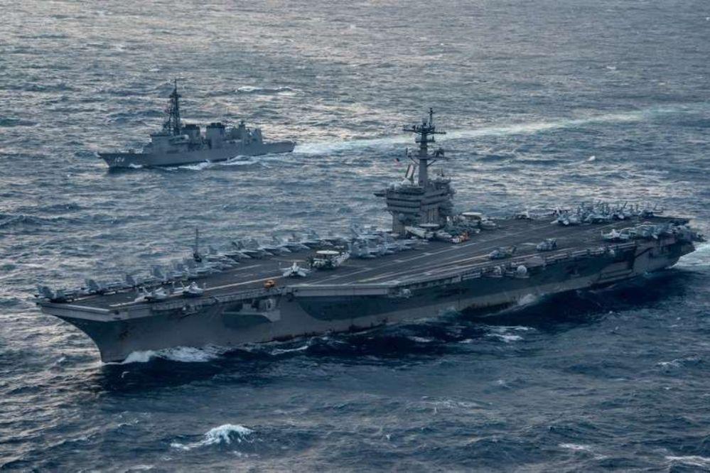 Un portaaviones nuclear estadounidense arribó amenazante a Corea del Sur