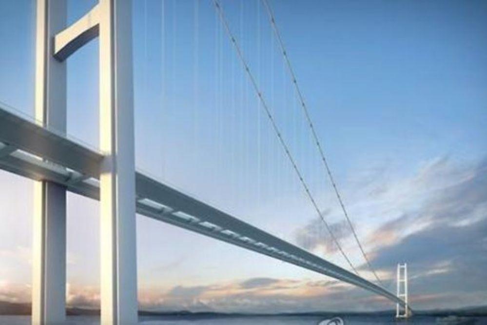 El puente colgante más largo del mundo será turco