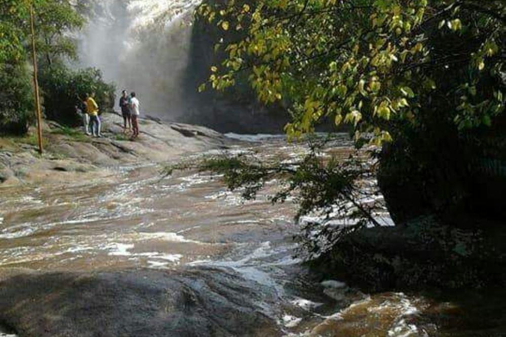 La increíble crecida de la cascada de Tanti