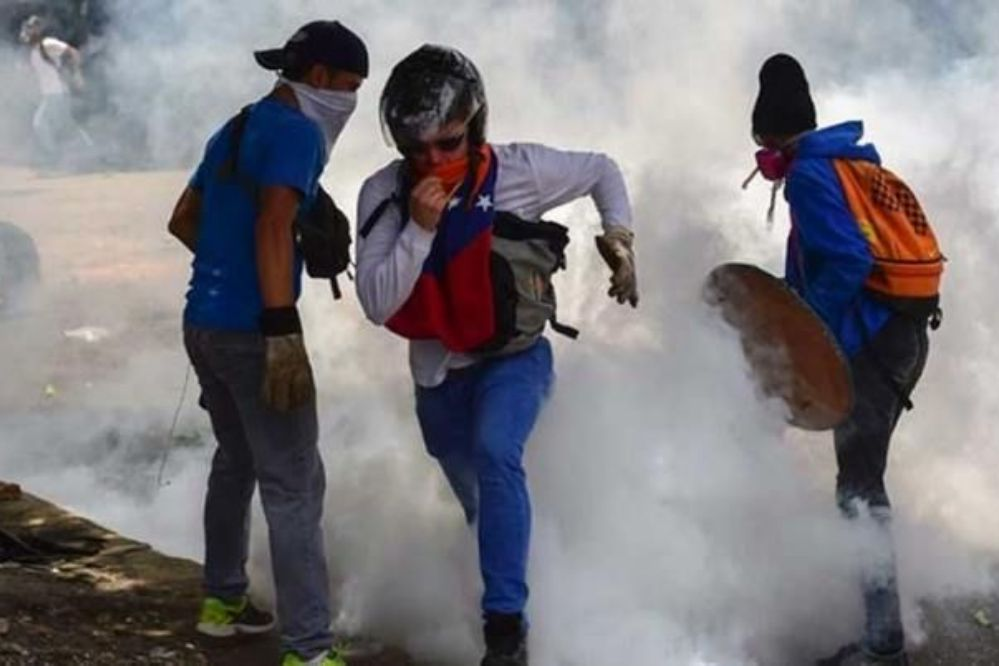 Dos muertos durante las protestas en Venezuela