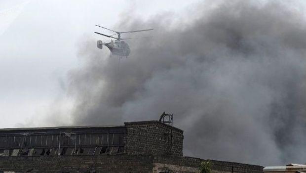 Gran incendio en San Petesburgo deja 7 muertos.