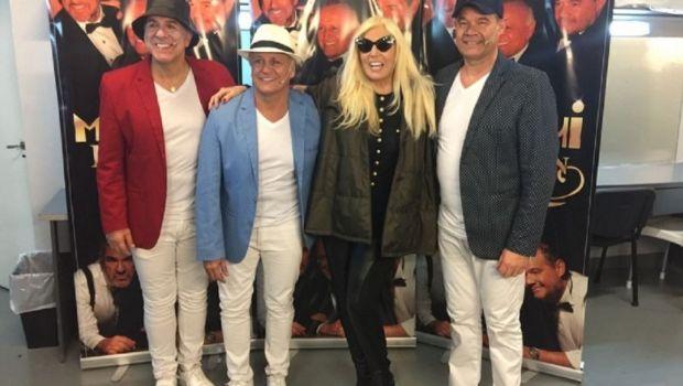 Susana Giménez fue a ver a los Midachi al teatro