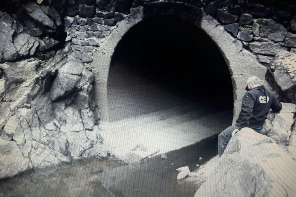 Un viaje al interior del embudo del dique San Roque