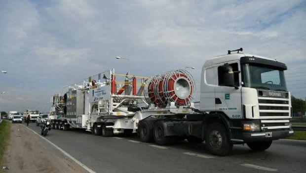 EPEC reforzó con una estación móvil el sistema eléctrico de Carlos Paz
