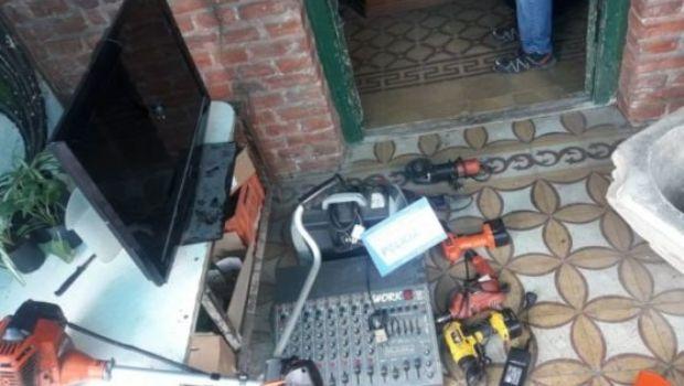 Allanaron una casa de Santa María y se recuperaron objetos robados