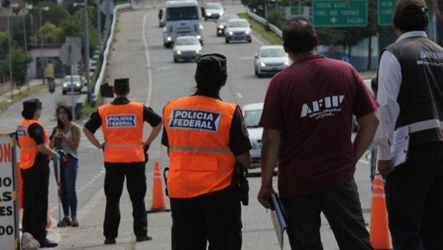 Provincia y Nación controlaron transportes en Carlos Paz