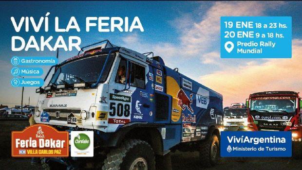 La Feria del Dakar llega a Carlos Paz con sorpresas y entretenimiento