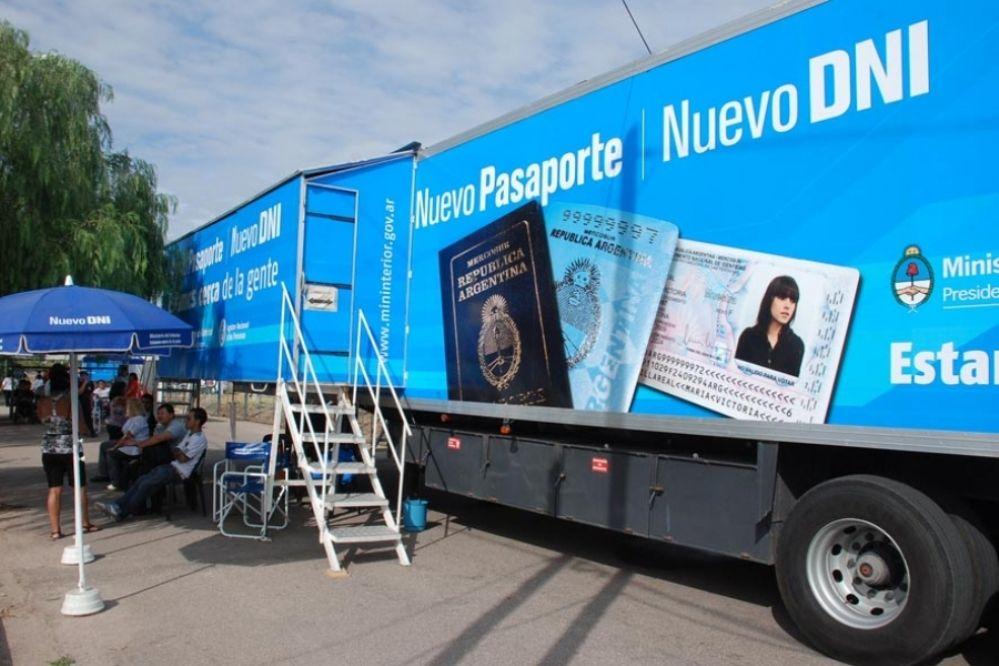El Camión de DNI y pasaportes ya ofrece sus servicios en Carlos Paz