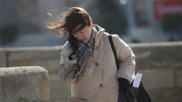 Se esperan fuertes vientos para Córdoba aunque no hay alertas de lluvias