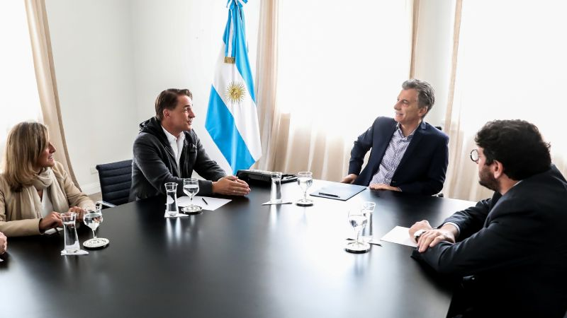 Macri recibió al CEO de Penguin Random House