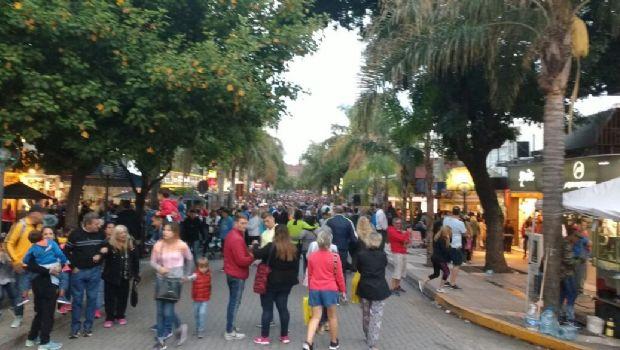 El feriado de Carnaval volvió a ser el punto más alto del verano en Carlos Paz
