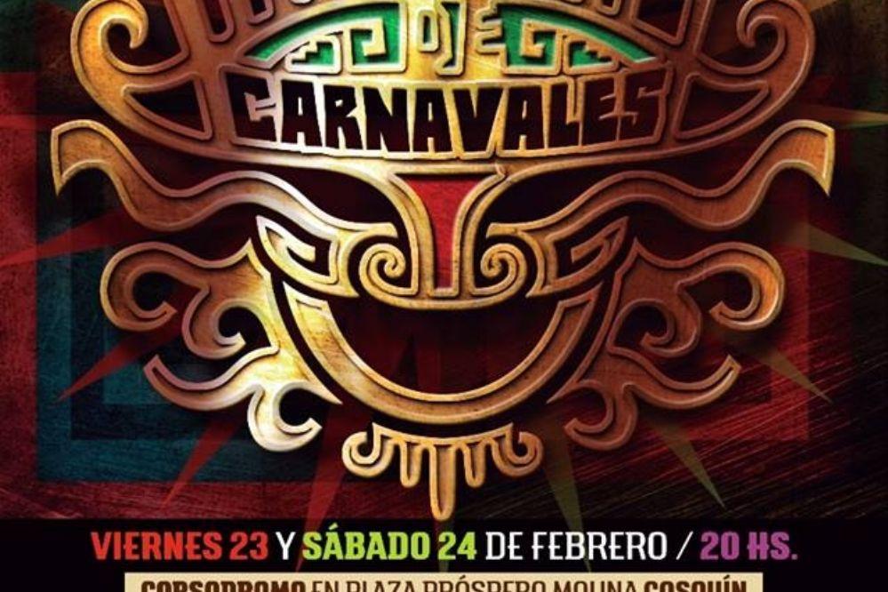 Cosquín abre el corsódromo para un carnaval folklórico
