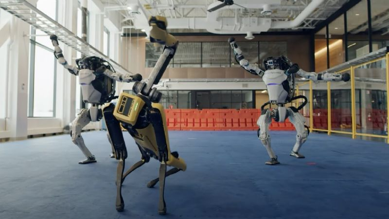Video: los increíbles robots danzantes de Boston Dynamics