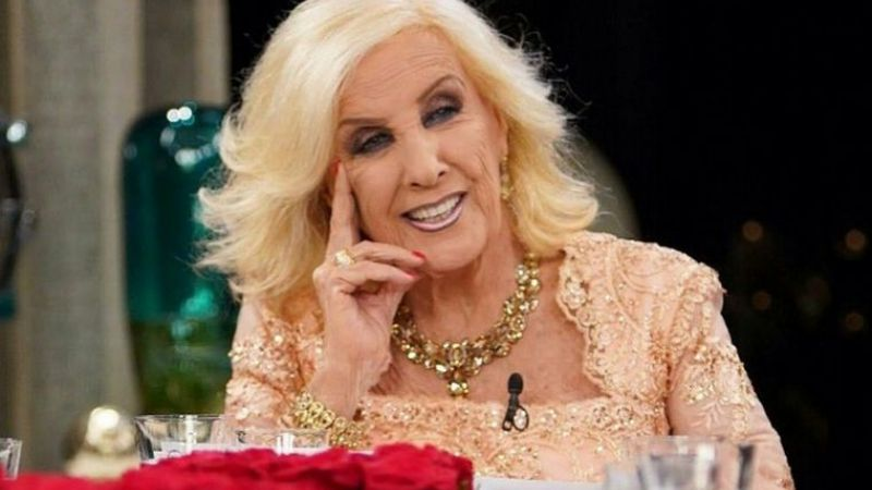 Fake New dio por muerta a Mirtha Legrand