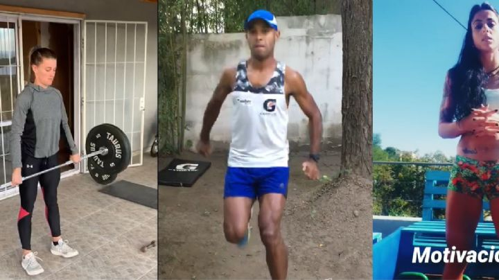 VIDEO: Así entrenan los deportistas carlospacenses en sus casas